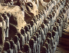 China Cruises & Tours - Terracotta Warriors