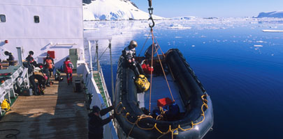 Antarctic Cruises & Tours - Boat trips